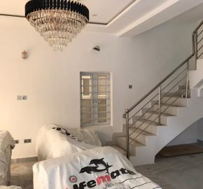 5 Bedroom Detached house with Domestic Quarters at Osapa Gardens