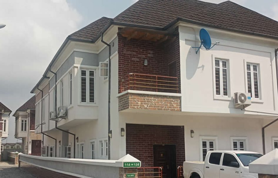 Brand New 5-bedroom Duplexes with Domestic Quarters