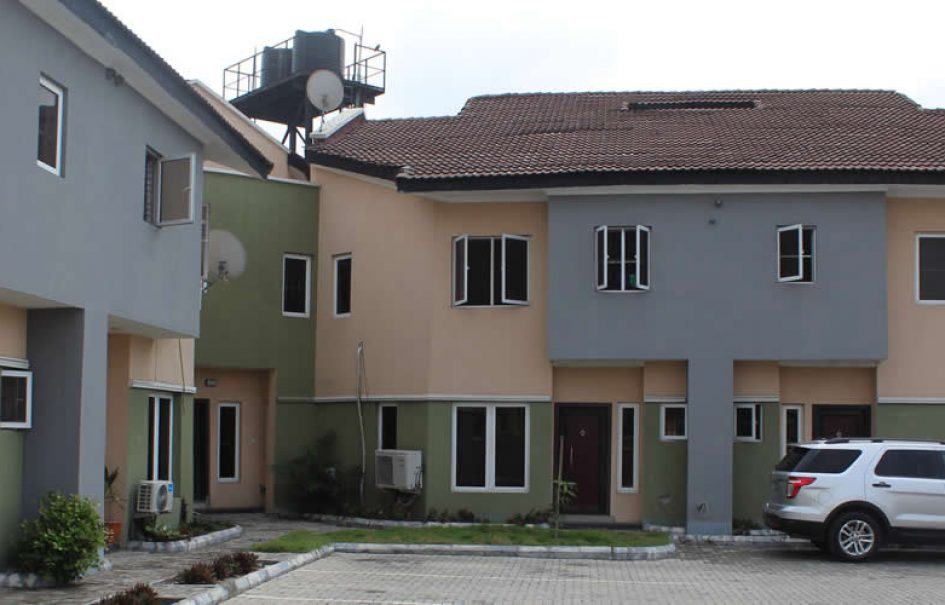 4-bedroom Terrace house at Idado with Domestic Quarters