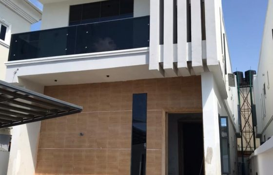 Brand New 5-Bedroom Detached House with Domestic Quarters