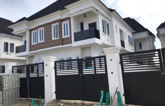Brand New 4-Bedroom Semi-Detached with Domestic Quarters